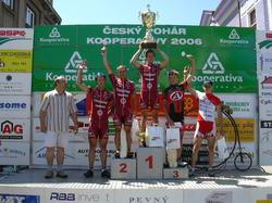 Martin Hebík zvítězil na kriteriu v J. Hradci