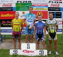 Cyklistické hvězdy udávali tempo.