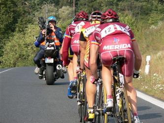 Chorvat Kvasina vyhrál cyklistický závod Praha-K.Vary-Praha