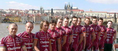 Představení týmu pro rok 2006.