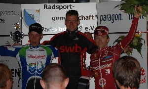 Martin Uher poprvé na bedně: obsadil třetí místo v závodě Paderborn Delbruck