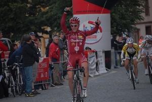 Haná Tour - vítězství Jiřího Nesvedy ve Vyškově.