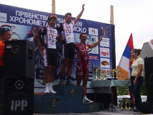 Jovanovič veze bronz z mistrovství Srbska.