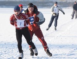 Tomáš Holub vyhrál bruslařský maraton na 43 km