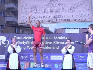 Tour of Szeklerland: Zelinka v 2. etapě  druhý, získal dres nejlepšího spurtera.