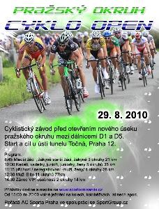 Pražský okruh CYKLO - OPEN 29.8.2010