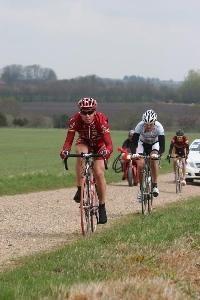 Tomáš Okrouhlický 160 kilometrů vúniku  na GP Herning 1.1 UCI