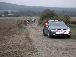 Vítězem silničního závodu okolo Brd na 103 km se stal Ondřej Cink Merida team