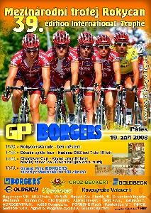 Grand Prix BORGERS - v pátek 19.září - Mezinárodní trofej