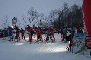 Finále Ski areálu Těškov  - Cena pivovaru CHODOVAR  pro Ondřeje Vodrážku
