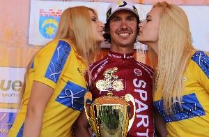 Tomáš Okrouhlický vyhrál 6.etapu Baltyk Krkonoše Tour a Petr Fiala přidal druhé místo