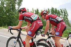 V první etapě Tour of IRAN obsadil Martin Červenka 19. místo a Jiří Nesveda je celkově druhý v soutěži sprinterů