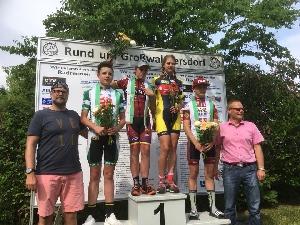Main- Spessart Rundfahrt: nejlépe dojel Jan Stöhr na 15. místě, v Chemnitz Petr Malán 12. místo a v žácích zvítězil Matouš Rubáš