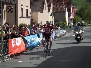 Sólově vítězná jízda Martina Hunala na Main - Spessart - Rundfahrt