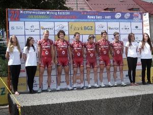"""Po 3. etapě závodu ,,Solidarnosc"""" Roman Broniš na 3. místě"""