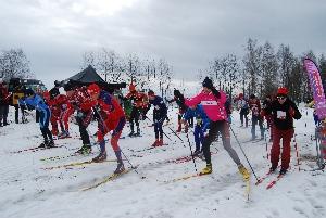 Ski areál Těškov hlásí první upravenou stopu na běžecké lyžování