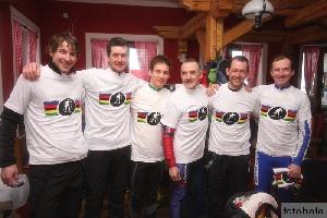 Ladislav Fabišovský vyhrál mistrovství světa cyklistů v běhu na lyžích