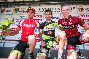 Pavel Stöhr obsadil 3.místo ve čtvrté etapě Vysočina tour