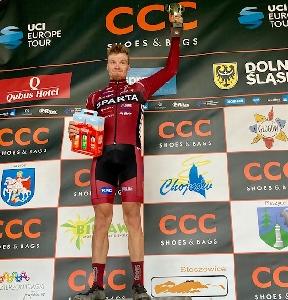 Sparťan Michal Schuran obsadil celkově 12. místo na CCC tour Grody Piastowskie, Richard Haberman druhý v prologu