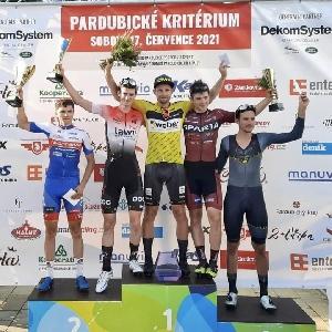 Sparťan Dominik Horák obsadil 3. místo na VC Pardubic