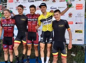 Petr Fiala z AC SPARTA PRAHA vyhrál první závod IL Sano cupu - Velkou cenu Cyklomax s.r.o.