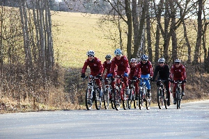 KEMP Vimperk - cyklisté Sparty vybojovali na hokejovém turnaji 3. místo