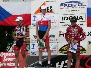 Zdeněk Křížek 3. místo na Mistrovství ČR v závodě jednotlivců do 23 let .