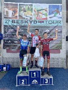 Sparťan Martin Volf obsadil 3.místo na Beskyd Tour