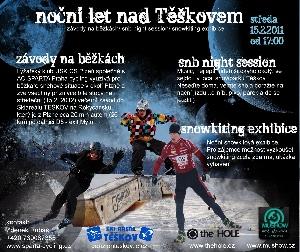 VEČERNÍ ZÁVOD NA BĚŽKÁCH v Těškově ve středu 15.2. 2012