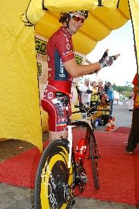 Tomáš Okrouhlický dojel na 4. místě při mistrovské časovce