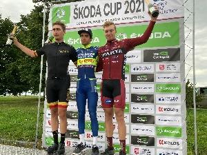 Sparťan Richard Habermann obsadil 3.místo na Škoda Cupu v Ostravě v kategorii U23 a 2. místo na kritériu