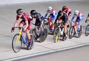 Richard Habermann 5.místo v kategorii U23 na mezinárodním závodě 500+1 kolo na velodrom v Brně