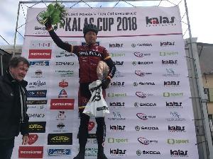 Sparťan Rostislav Krotký nejaktivnějším jezdcem na českém poháru V.Bíteš -Brno - Bíteš