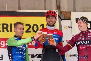 Tomáš Kalojíros si dojel na Tour de Brdy pro hatrick. Josef Hořejší AC SPARTA PRAHA 3. místo