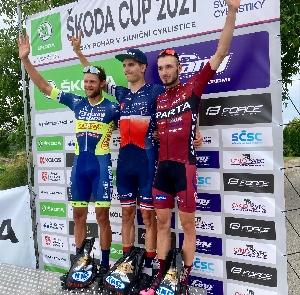 Sparťan Michal Schuran obsadil 3. místo na ČP  Škoda cup v Blatné