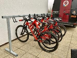 Představujeme originální stojany pro kola - Sparta Cycle Parking Pro 7 -12 -24... Bikes