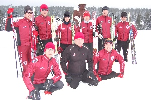 1.zimní tréninkový kemp Sparty na Šumavě