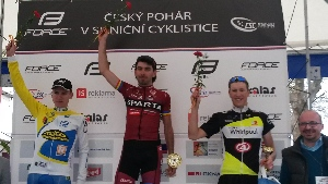 Tomáš Kalojíros vyhrál na ČP v Kyjově soutěž závodníků do 23 let