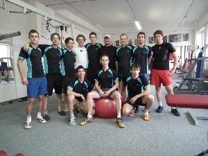 Cyklisté Sparty na týmovém kempu čeká v sobotu zápas s FC Těškov a Holoubkov