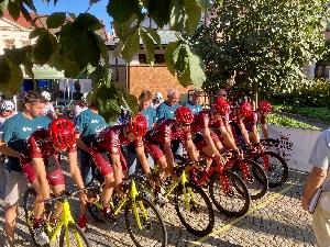 Sparta obsadila celkově 8. místo v soutěži týmů na Okolo jižních Čech, Jan Ryba bodoval na 4. místě v soutěži vrchařů a Richard Habermann na 12. a 13. místě v etapách .