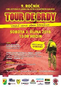 Tour de Brdy startují v sobotu 3.10. ve Strašicích