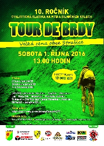 10.ro�n�k Tour de Brdy startuj� 1.10. v 1 hodinu po poledni