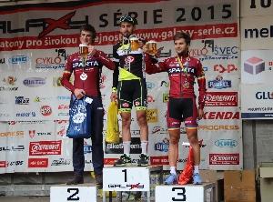 Tour de Brdy vyhrál Tomáš Kalojíros team Whirpool před Petrem Fialou a Vojtěchem Jonášem oba AC SPARTA PRAHA