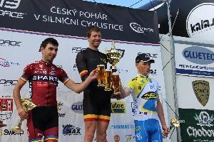 Sparťan Tomáš Kalojíros dojel druhý na Trofeji Rokycan a vede celkově soutěž ČP do 23 let