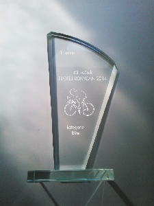 Trofeje z  Rokycan pro vítěze 43. ročníku