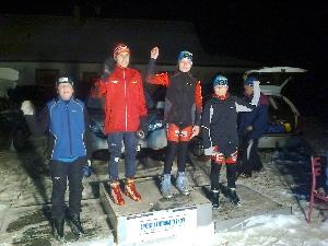 Středeční  Ski liga areálu Těškov  -  Cena CHODOVARu