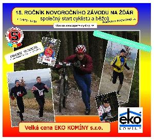 Novoroční závod na Žďár u Rokycan opět o prémii 10 000,- Kč