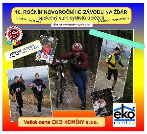Sportovní zdar bude opět na novoročním Žďáru  - Velká cena EKO KOMÍNY s.r.o.