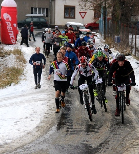 Velká cena EKO KOMÍNY s.r.o.- 17. ročník novoročního závodu na Žďár u Rokycan vyhrál opět juniorský reprezentant Jan Rajchart.