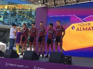 Na Tour of Almaty v Kazachstánu dojel Michal Schuran na 21. místě